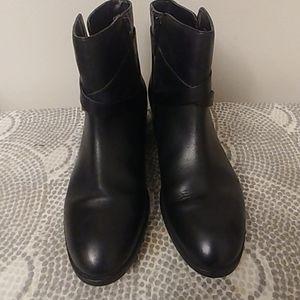 Ralph Lauren Marsha Bootie Size 9.5 Black